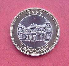 Macau(Macao) 1999 Macau's Return to China 10 Patacas Bi-metallic Coin UNC