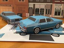 Paper Craft Lincoln Versailles Paper Car EZU-build Toy Model Car Ford Mercury