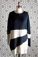 NWT Boy by Band of Outsiders White Striped Sweater 2 $525 Tunic Dress