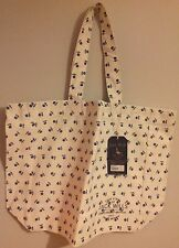 BNWT Jack Wills Lesterton White Floral Ditsy Shopper, Tote Bag - RRP £24.50