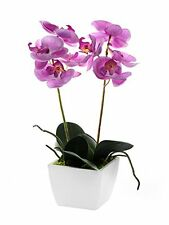 Artificial  Pink Mini Orchid in a Pot[pink]