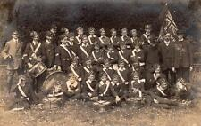 Boys Brigade RP old pc posted Grimsby 1910