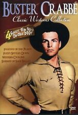 Classic Westerns: Buster Crabbe Four Feature (2007, REGION 1 DVD New)