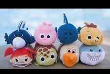 Disney Parks USA Tsum Tsum Finding Nemo Set Of 8 NWT