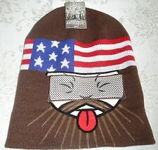 Flip-Down Beanie with Reveal See-Through Mesh Mask DUCK DYNASTY (section 1)