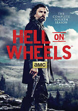 Hell on Wheels: Season 4 (DVD, 2015, 4-Disc Set)