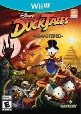 DuckTales: Remastered (Nintendo Wii U Disney Adventure Children Capcom) NEW