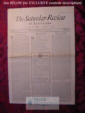 SATURDAY REVIEW March 12 1927 Elmer Gantry Sinclair Lewis Anthony Trollope