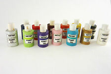 Dollhouse Miniature Artisan Made Craft Paint Bottles Set