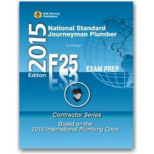 F25 National Standard Journeyman  Plumber Practice Questions Workbook ICC Exam