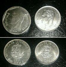 Venezuela lotto 2 monete del 1989 e 1998