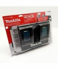 Makita DC18RD 18-Volt Charger Lithium-Ion Dual Port Rapid OptimumW/ USB PORT New