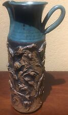 MId Century Art Pottery Pitcher in the Brutalist Style by Victoria Littlejohn