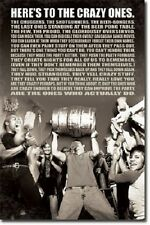 The Crazy Ones Beer Keg 22x34 Poster Art Print 1402T