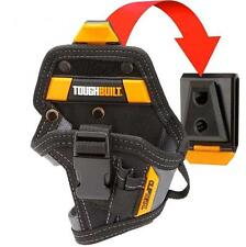 Toughbuilt Lithium-Ion Drill Holster Tool Storage Belt Clip Pouch Bit Pockets