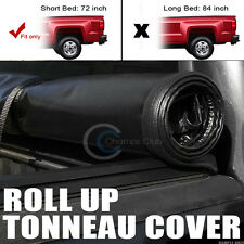 "ROLL-UP SOFT TONNEAU COVER 94-03 CHEVY S10/S15 SONOMA/96-00 HOMBRE 6 FT 72"" BED"