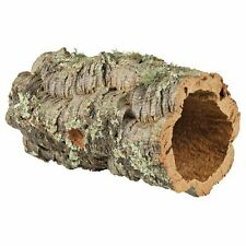Small Cork Tunnel Hamsters Mice Rats Gerbile Terrarium Decoration Gecko Cave
