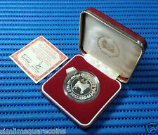 1982 Singapore Mint's Lunar Series $10 Year of the Dog 1 oz Silver Proof Coin