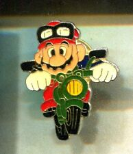 RARE PINS PIN'S .. JEU VIDEO GAMES BD COMICS NINTENDO MARIO BROS MOTO N°2 ~CW