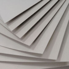 A4 X 10 sheets Greyboard 2mm 2000 microns one size free cutting service availabl