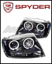 Spyder Jeep Grand Cherokee 99-04 Projector Headlights LED Halo LED Blk -