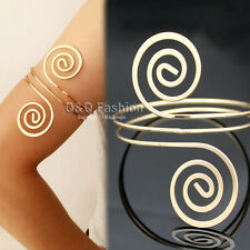 Victorian Filigree Swirl Gypsy Boho Armband Upper Arm Cuff Armlet Belly Dance