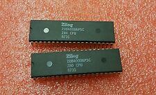 2 psc  Zilog Z0840006PSC 8 BIT Microprocessor Z80 CPU Vintage Plastic Dip Rare