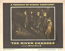 The River Changes 1956 11x14 Lobby Card #5