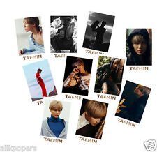 KPOP 10pcs Shinee Taemin Photo Lomo New Solo Press Your Number Card Photocards