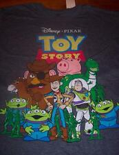 VINTAGE STYLE WALT DISNEY TOY STORY T-Shirt LARGE NEW w/ TAG Woody Buzz Rex