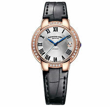 RAYMOND WEIL Jasmine Gold Diamond AUTO Ladies Watch 2935-PCS-01659 RRP £2995 NEW