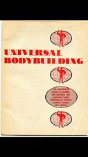 UNIVERSAL BODYBUILDING 1974.VG. HTF. No Holes Punched