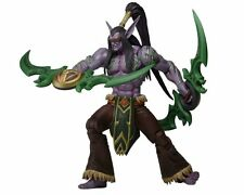 "BLIZZARD ILLIDAN THE BETRAYER NECA 7"" ACTION FIGURE MOC HEROES OF THE STORM WOW"