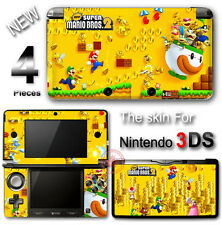 Super Mario New Bros 2 Cute SKIN VINYL STICKER DECAL COVER for Nintendo 3DS