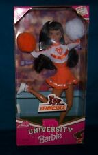 1997  Mattel Barbie University of Tennessee Chearleader Doll NRFB