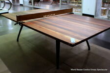 108 Industrial ping pong Sport Table tennis Platform oak walnut iron leather net