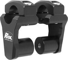 Rox Black Anodized 2 Inch Pivoting Handlebar Riser For 1 1/8 Bars For BMW KTMs