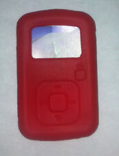 Red Silicone Skin Case for Sandisk Sansa Clip Plus+ MP3 Player Cover Holder