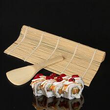 Sushi Maker Kit Rice Roll Mold Kitchen DIY Mould Roller Mat Rice Paddle Set 2017
