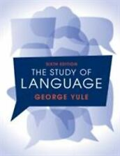 The Study of Language by George Yule (2016, Paperback, Revised)