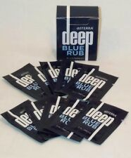 doTERRA ESSENTIAL OIL ~ DEEP BLUE RUB 2 ml SAMPLE PACK 10 in box~Free Ship