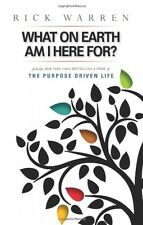 What on Earth Am I Here For? Purpose Driven Life, New, Free Shipping