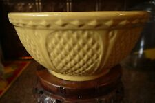 "Vtg NEW! RRP ROBINSON RANSBOTTOM POTTERY 207 10"" GOLD YELLOW MIXING BOWL"