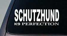 "Schutzhund German Shepherd 6"" sticker decal sticker malinois rottweiler k9 Dog"