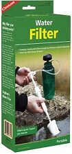 WATER FILTER PUMP/STRAW UP TO 1 QUART PER MINUTE, LIGHTWEIGHT, COMPACT! COGHLANS