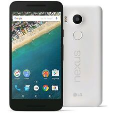 NEW UNLOCKED LG Nexus 5X H790 (US) 32GB WHITE 4G LTE Android Smartphone w/ BOX