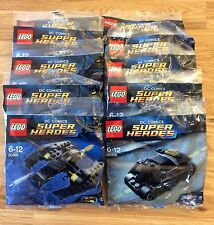 Lego batman bundle 30300 x 5 plus 30301 x 5 brand new sealed party favours rare