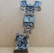 2000 Dwarf Limited Edition Army Standard Bearer Citadel Pro Painted Warhammer GW