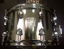 "SJC Custom Drums 14x8"" Limited Edition Nickel Over Steel Snare Drum"