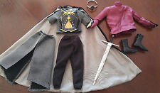 BARBIE KEN OUTFIT - 'ARAGORN FROM LORD OF THE RINGS  - VERY REGAL
